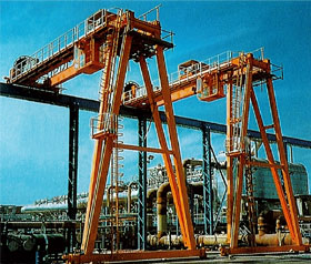 Explosion proof cranes and hoists